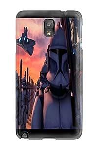 AmandaSMartin Premium Protective Hard Case For Galaxy Note 3- Nice Design - Star Wars Clone Wars