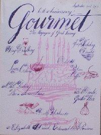 Gourmet, the Magazine of Good Living (September 2001)