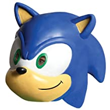 Rubies Costume Co Sonic The Hedgehog Sonic 3/4 Vinyl Mask