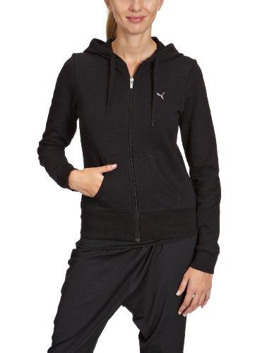 Coton Organique Ess Sweatshirt HoodedPour En Femme Noir Puma stQCxBrdh