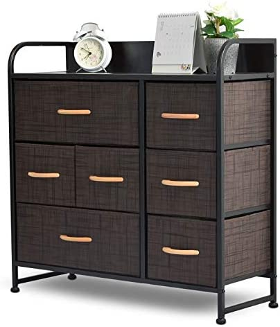 7 Drawers Fabric Storage Organizer Clothes Drawer Dresser