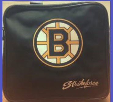 Novelty Bowling Ball Bags - 4 Ball - Bruins by Epco