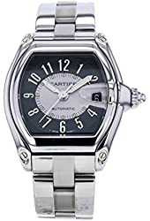 Cartier Roadster black mens Watch W62001V3 (Certified Pre-owned)