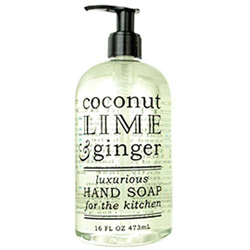 Greenwich Bay Trading Co. Luxurious Hand Soap For The Kitchen, 16 Ounce, Coconut Lime & Ginger -