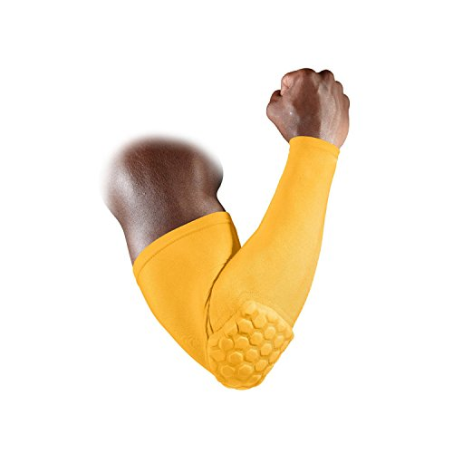 Mcdavid Classic 6500 Hex Power Shooter Arm Sleeve Gold Small by McDavid