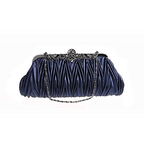 ladys-fashion-satin-envelope-pleated-crystal-evening-clutch-bags-wedding-party-handbag-navy