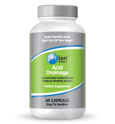 pHion Balance Acid Drainage, Naturally Drain Body Acids - Sold Directly by pHion Balance