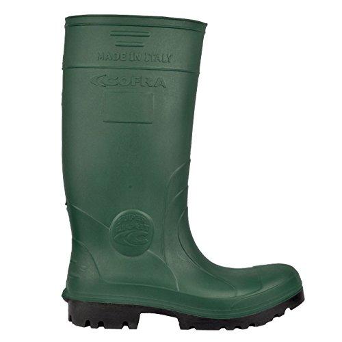 """Cofra 00010–054.w39Talla 39S4CI SRC–Zapatillas de seguridad """"Nueva Hunter–Verde"""
