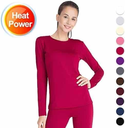 Thermal Underwear for Women Long Johns Set Fleece Lined Ultra Soft 46017a28f