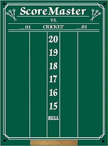 Scoremaster Chalk Dart Scoreboard