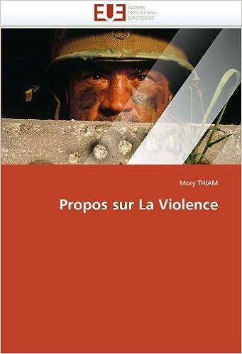 Book Propos sur La Violence (Omn.Univ.Europ.)