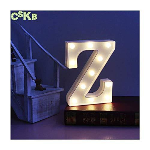 Amazon.com: CSKB LED Marquee Letra Luces 26 Alfabeto Luz ...