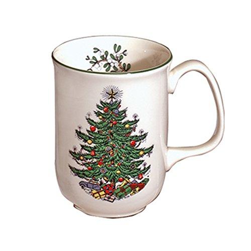 Original Christmas Tree Traditional Mug, Set of 4