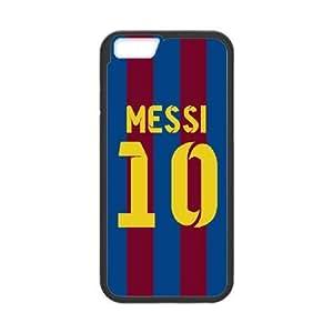 iPhone 6 Plus 5.5 Inch Phone Case Black Lionel Messi SF8611277