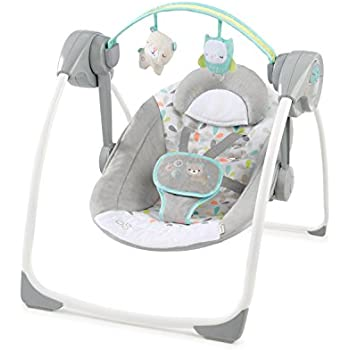 Amazon.com : Ingenuity Comfort 2 Go Portable Swing - Fanciful Forest ...