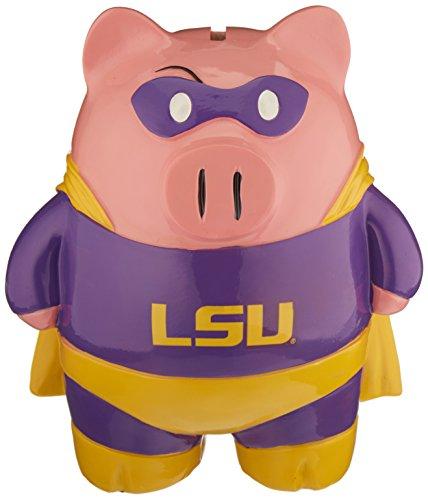 Tigers Fan Piggy Bank - LSU Tigers Piggy Bank - Large Stand Up Superhero