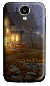 Halloween Painting Polycarbonate Hard Case Cover for Samsung Galaxy S4/Samsung Galaxy I9500 3D