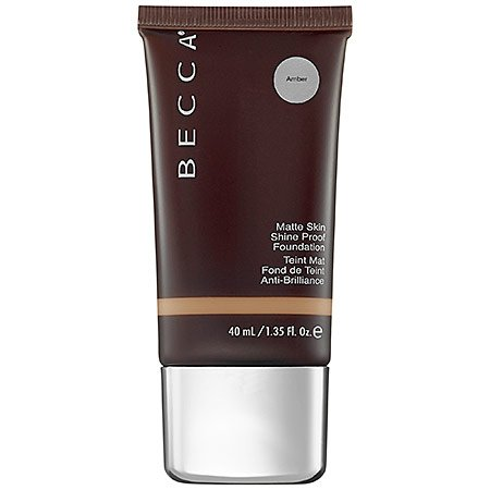 (BECCA Ever-Matte Shine Proof Foundation - Amber )