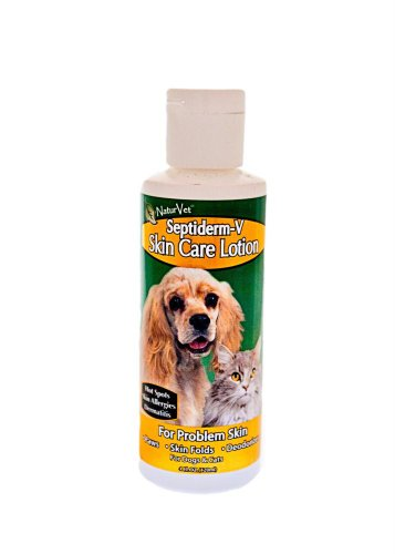 NaturVet GreenTree Septiderm-V Lotion, 4 Ounce