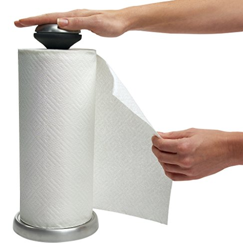 Oxo Stainless Steel Paper Towel Holder - OXO Good Grips Grip and Rip Stainless Steel Paper Towel Holder