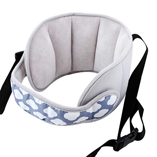 Adjustable Child Car Seat Head Support Band Head Support A Comfortable Safe Sleep Solution Black