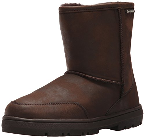BEARPAW Men's Patriot Winter Boot, Chocolate, 10 M US