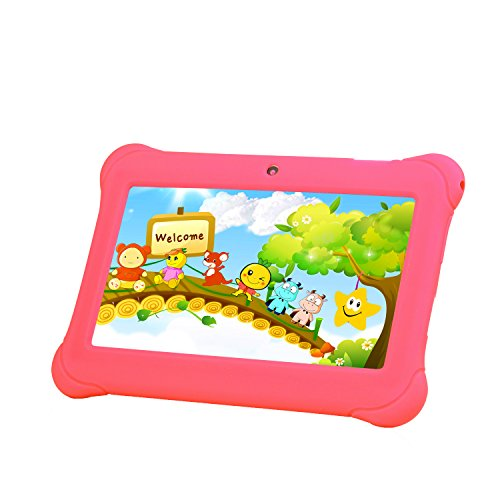Tagital® 7″ T7K Android Kids Tablet – Pink