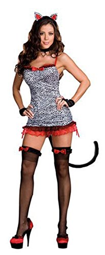 Womens Small (2-6) Sultry Stray Feline Costume (Feline Costume)