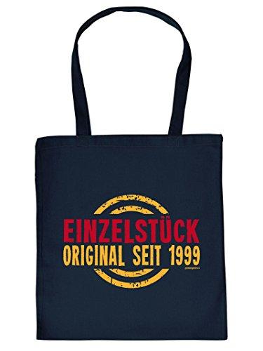 zum 18. Geburtstag Tragetasche Tasche Einkaufstasche Einzelstück Original seit 1999 Geschenk zum 18 Geburtstag 18 Jahre Geburtstagsgeschenk 18jährige