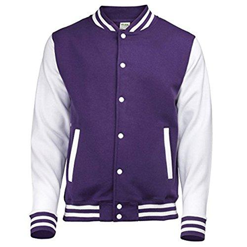Awdis Awdis Uomo White Purple Uomo Giacca Purple White Giacca rqHBtwPr