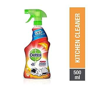 Dettol Orange Healthy Kitchen Power Cleaner Trigger Spray 500ml