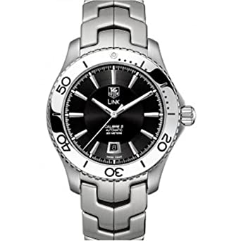 e02e672e8a1 Image Unavailable. Image not available for. Color  TAG Heuer Men s  WJ201A.BA0591 Link Caliber 5 Automatic Watch