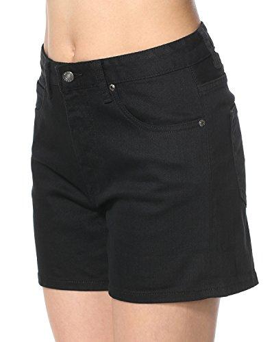 Nero Dr Denim Denim Pantaloncini Donna Denim Dr Nero Pantaloncini Donna Dr UqfxngvTwn