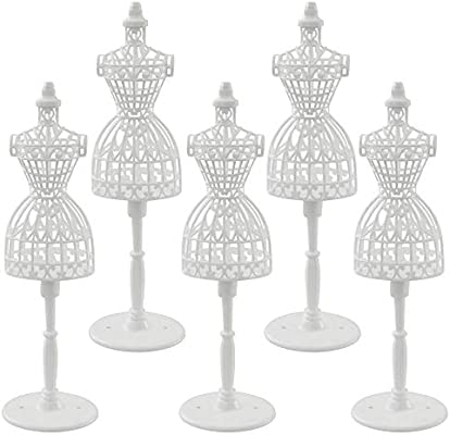 """Display Holder Support For 11.5/"""" Doll Clothes Outfit Dress Gown Mannequin Model"""