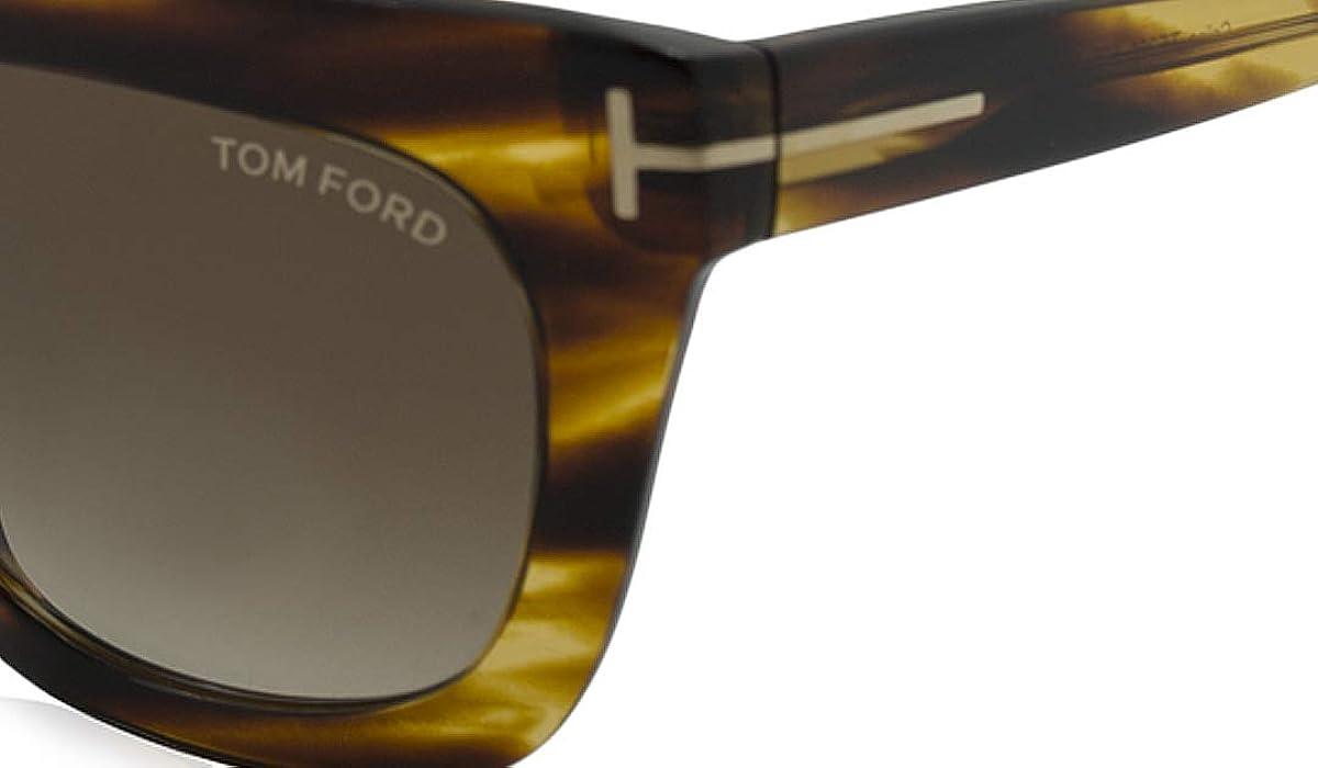 c9f245dc137f Celina Sunglasses in Striped Brown FT0361 50F 55. Tom Ford ...