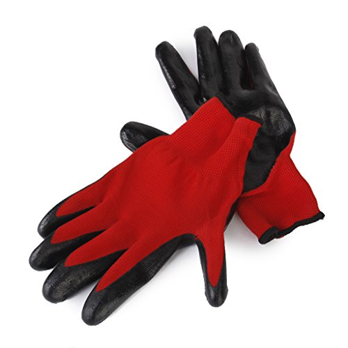 Jili Online Fitted Bite-proof Gloves Garden Rubber Protective Gloves for Pet Hamster 2Pc