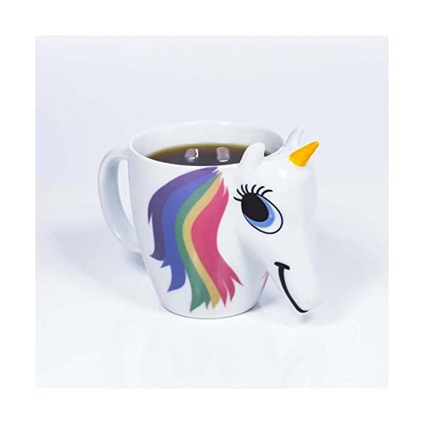 Magical Heat Sensitive Color Changing Rainbow Unicorn Magic Coffee Mug Cup Gift(3D) 7