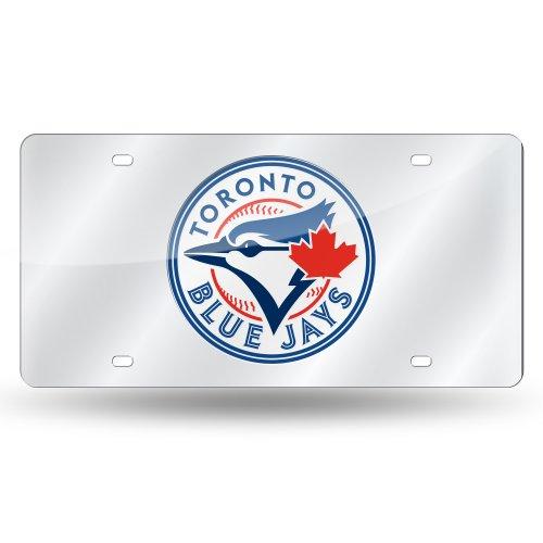 Toronto Blue Jays License Plate - MLB Toronto Blue Jays Laser-Cut Auto Tag