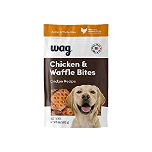 Amazon Brand – Wag Treats, Chicken and Waffle Bites