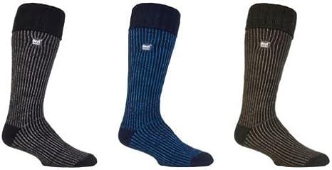 Mens Thermal Knee High Winter Boot Socks 3 Colors Heat Holders