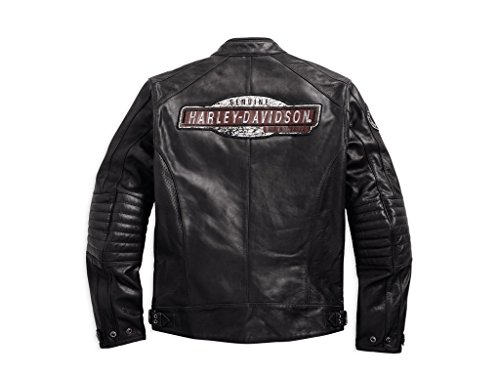 Harley Davdison Lederjacke Lea Cruiser Perforated