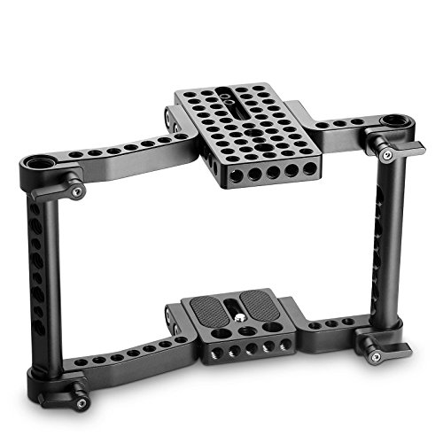 SMALLRIG Versaframe Camera Cage for Panasonic GH4/GH3/GH2, for Sony A7/A7II, for Canon, for Nikon, etc - 1630