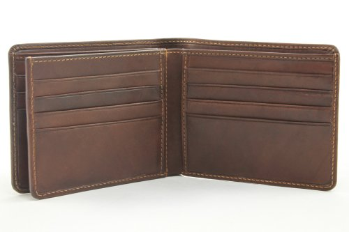 Luggage Depot USA, LLC Tony Perotti Italian Leather Classic Bifold Multi Credit Card Wallet, Brown by Luggage Depot USA, LLC