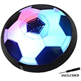 JTORD Hover Soccer Ball Hovering Ball Toys with LED Light for Kids Boys Girls Indoor Outdoor Sports Ball Game Gifts
