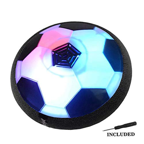 JTORD Hover Soccer Ball Hovering Ball Toys for Kids Gifts Age 2 3 4 5 6 7 8 9 Year Old Girl Boy Boys Girls Indoor Outdoor Sports Ball Game