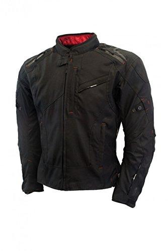 Oxford Men's Estoril Textile Jacket (Tech Black, 5X-Large)
