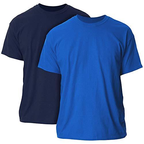Gildan Men's Ultra Cotton Adult T-Shirt, 2-Pack ()
