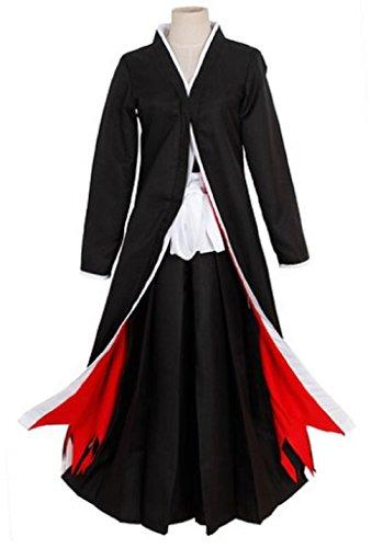 YUKICHI wear Bleach Kurosaki Ichigo Cosplay Costume Set【 Black 】Japanese Anime (L, Black)