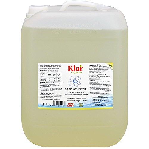 Klar Basis Sensitive Color Waschmittel flüssig 10l