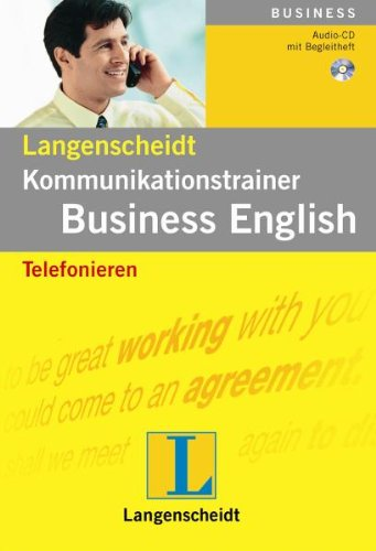 Kommunikationstrainer Business English, Audio-CDs, Telefonieren, 1 Audio-CD